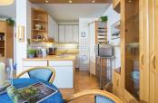 Haus am Birkenweg Küche mit Essbereich